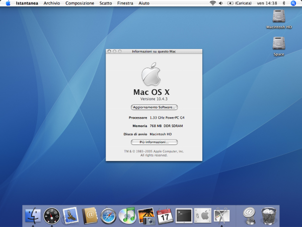 screenshot Mac OSX