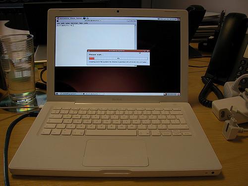 ubuntu su un macbook