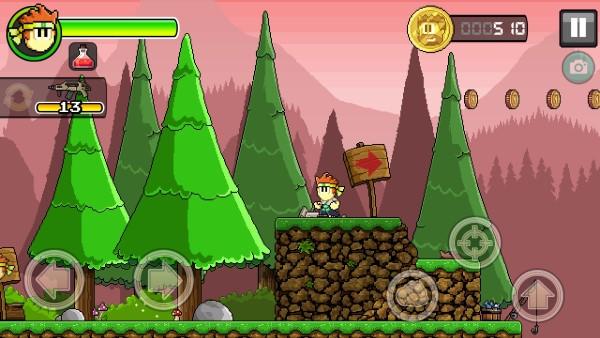 dan the man android game screenshot 2