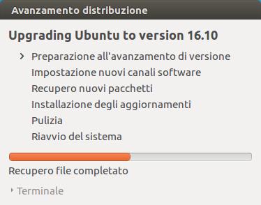 ubuntu yakkety yak install 3