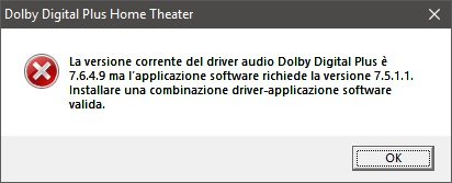 pilote audio dolby digital plus 7.6.4.9