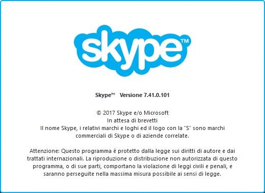 Skype 7.41.0.101 su Windows
